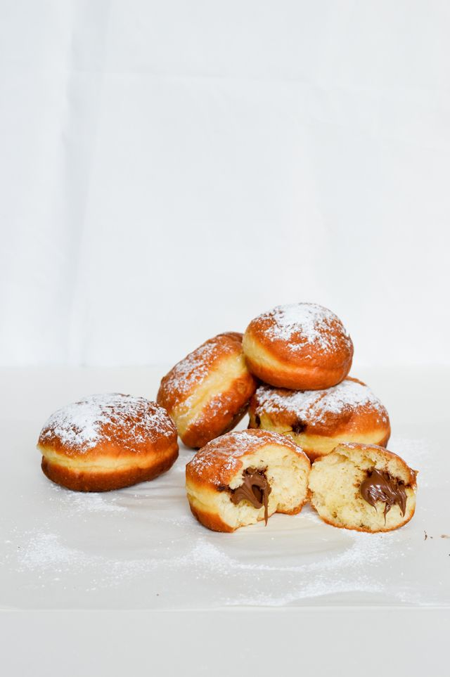 Doughnuts with Nutella | Nutella. | Pinterest