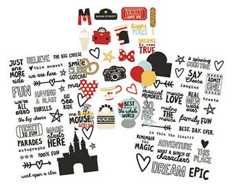 Planner stickers, Say Cheese 3 Clear Stickers. Stickers for planners, stickers for photo, Photo stickers, Decoration stickers, Deco stockers
