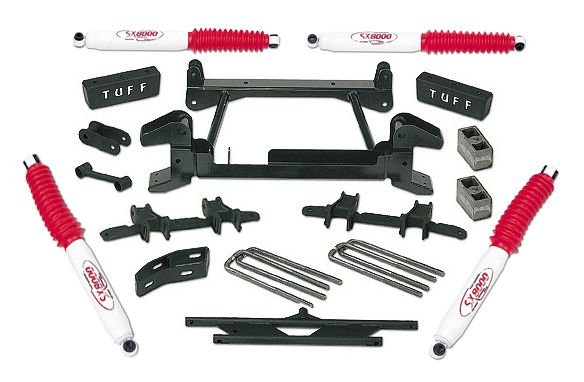 Featured Chevy Truck Lift Kits 1969-1987 Straight Axle 4wd Models Tuff Country's straight axle suspension lift kits for the 1969 thru 1987 Chevy trucks feature the exclusive EZ-Ride leaf springs. All springs are tapered, snub rolled…