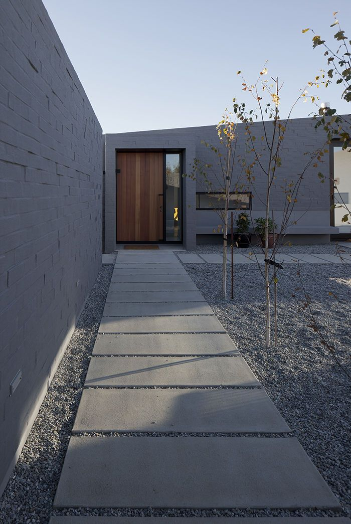 Concrete Compounds Courtyards : Love articles concrete slab and courtyard house on pinterest