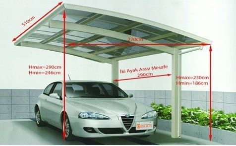 motorized pergola carport tent