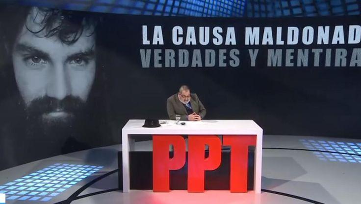 En el programa de Lanata emitieron un informe sobre la desaparición de Santiago Maldonado - La Gaceta Tucumán