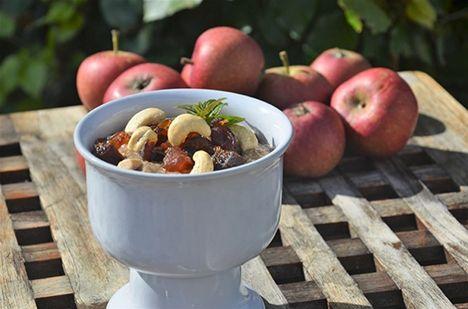 Raw food-recept: Pepparkakspudding
