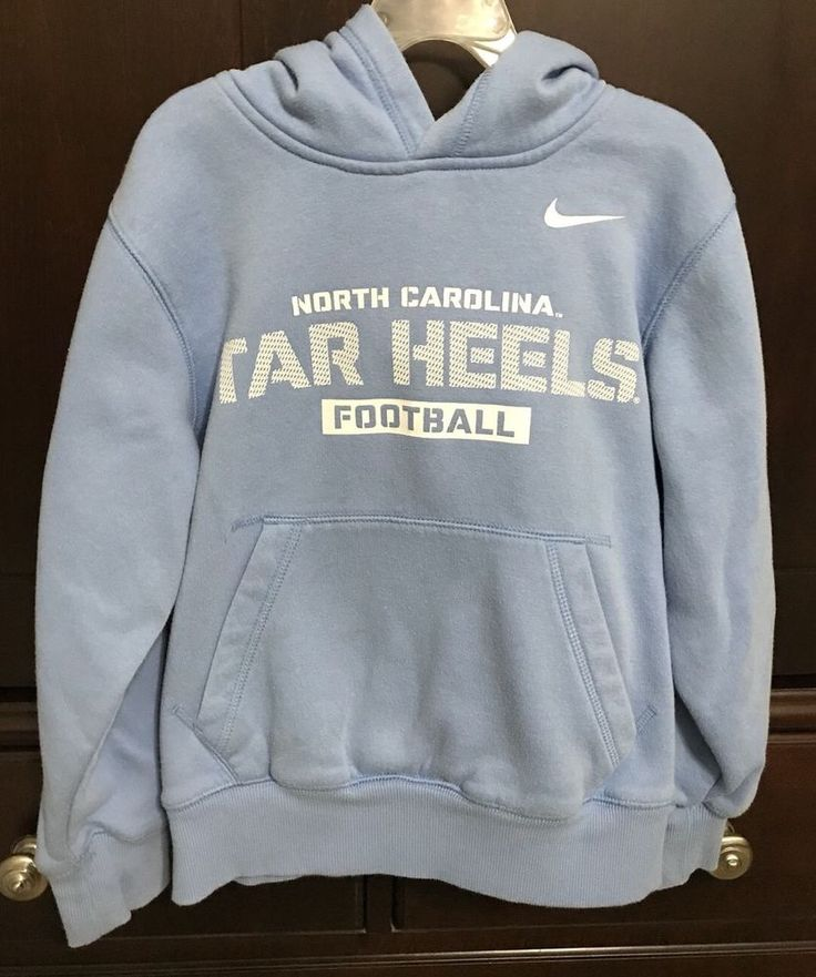 North Carolina Tar Heels Football • Nike Hoodie • Boys Youth Size Small  | eBay