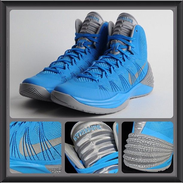nike blue foamposite 2013 hyperdunks