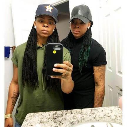 black lesbian studs