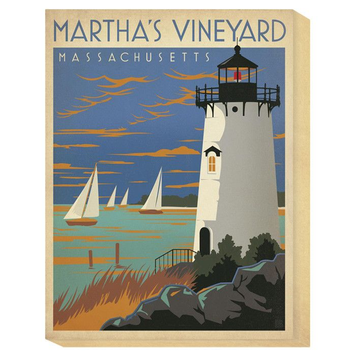 Martha's Vineyard Canvas Art