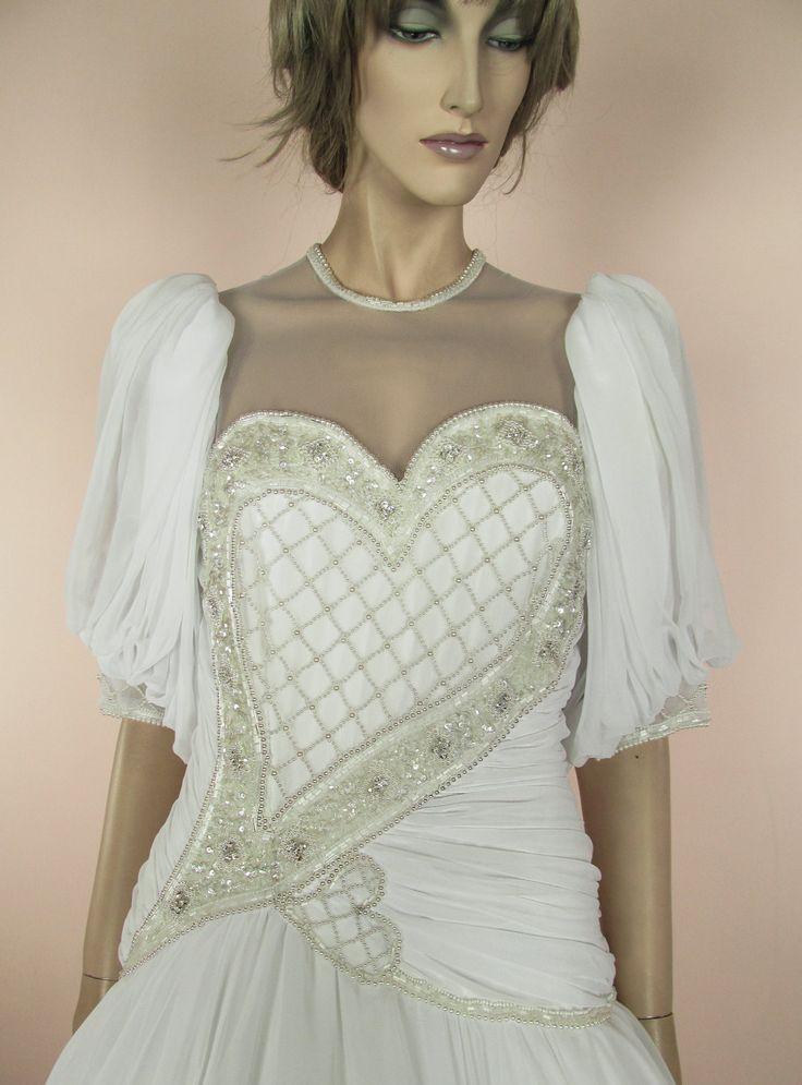 48 best Vintage Wedding dress images on Pinterest | Short wedding ...