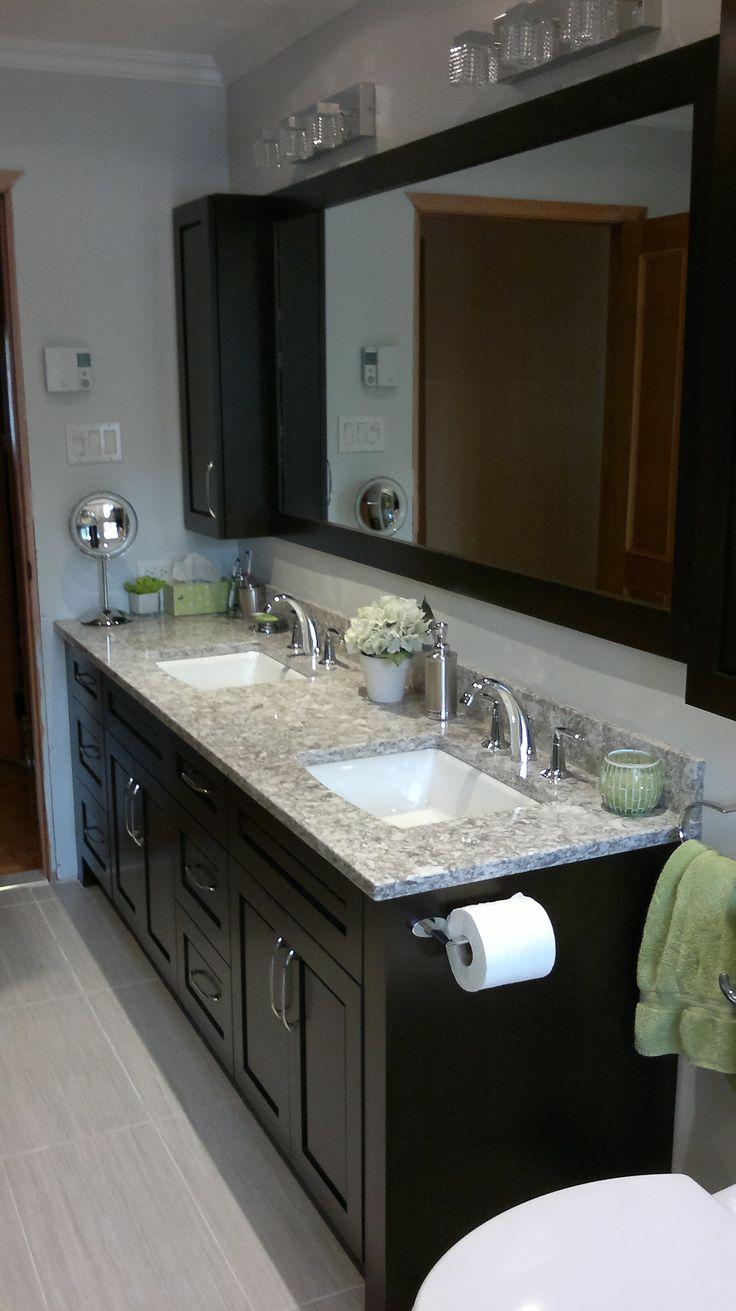 72 best realisation bathroom salle de bain images on for Salle de bain kitch