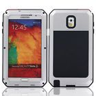 Waterproof Gorilla Glass Silver Metal Case for Samsung Galaxy S3 {w10
