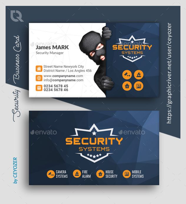 Security Business Card Templates Business Card Design Inspiration Letterpress Business Cards Card Templates