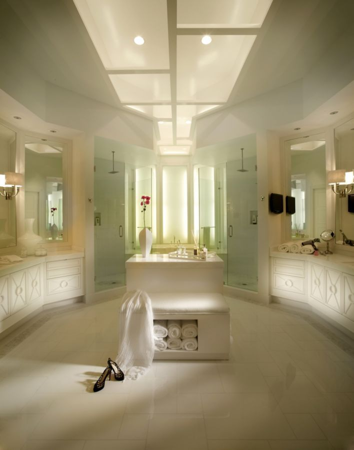 This Breathtaking White Bathroom Was Completed By Zelman Style Interiors Luxefl
