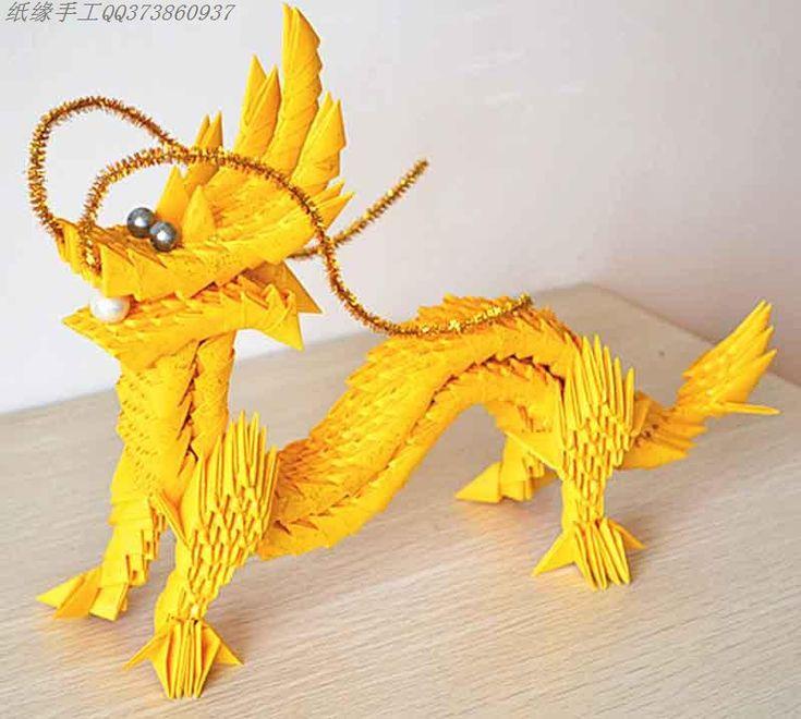 Origami Chinese Dragon   Dragons   Pinterest