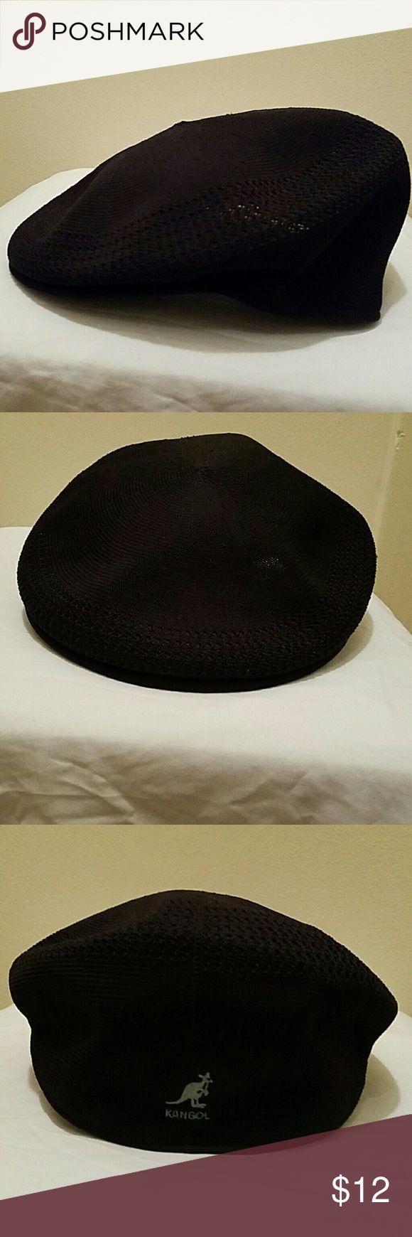 Kangol Cap 🌟 Black Kangol Men's Cap size Large Kangol Accessories Hats