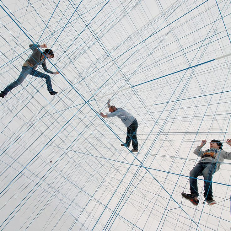 A Massive Inflatable String Jungle Gym by Numen/For Use - Colossal