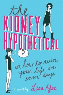A week before high school graduation, Harvard-bound Higgs suddenly finds his life falling apart and the other students turning against him, and somehow it all started with a hypothetical question about donating a kidney--but really it goes much deeper, all the way back to the death of his older brother.