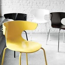 west elm yellow dining chair - Google Search