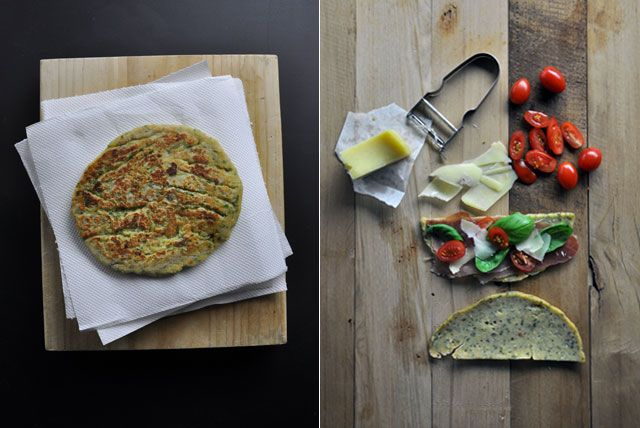 Heidi's Lenti Piadina from Our Kitchen at Fisher & Paykel. Whilst starting off making lentil croquettes one day, I gave a twist to the recipe and turned them into lentil piadinas, Italian style pita bread.