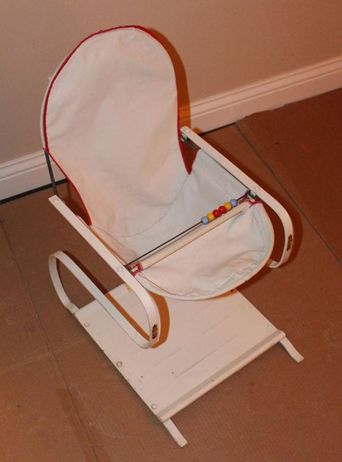 e3c7a7bbff98 1950s vintage Teeter Babe jumper. The seat and tray were washable ...