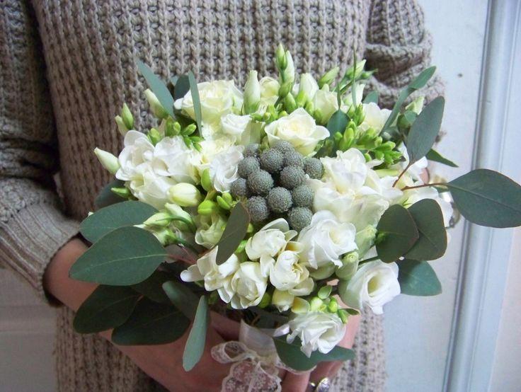 Сваднбный букетик от Мяты. #мята, #букет, #цветы
