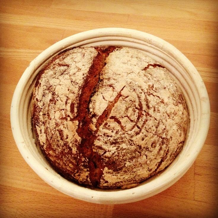No knead Sauerteigbrot ohne Hefe, glutenfrei  #glutenfrei #glutenfree