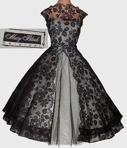 1244 best images about Vintage Fashion~50's LBD on Pinterest ...