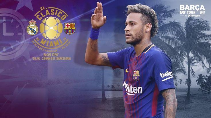 Horario Barcelona vs Real Madrid y canal; El Clásico en Miami - https://webadictos.com/2017/07/28/hora-barcelona-vs-real-madrid-2017-miami/?utm_source=PN&utm_medium=Pinterest&utm_campaign=PN%2Bposts