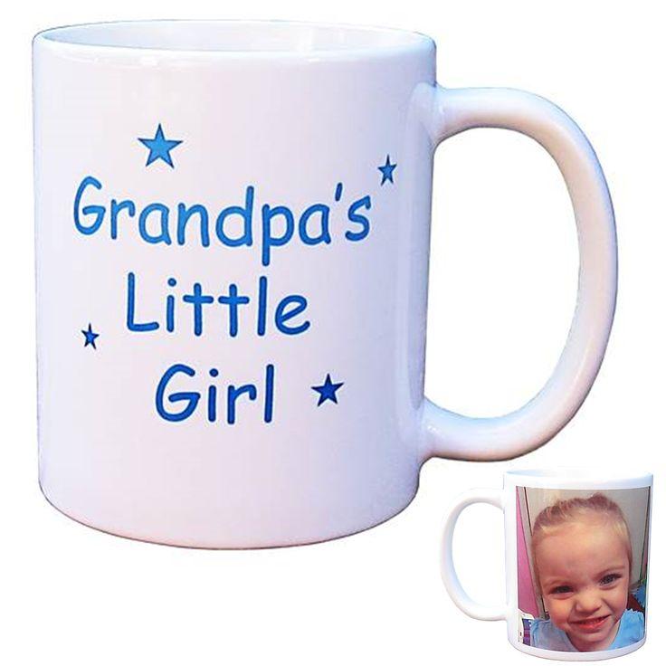 Personalised Photo Mug - Grandpa's/Poppy's Little Girl