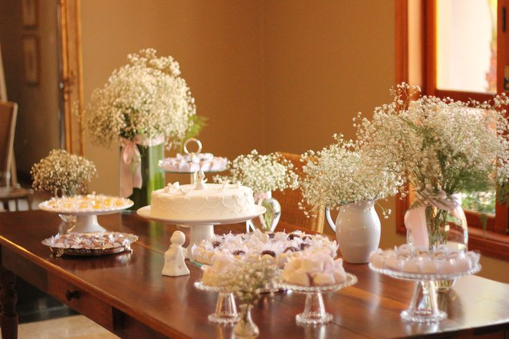 Christening Table Decoration My Style Pinterest