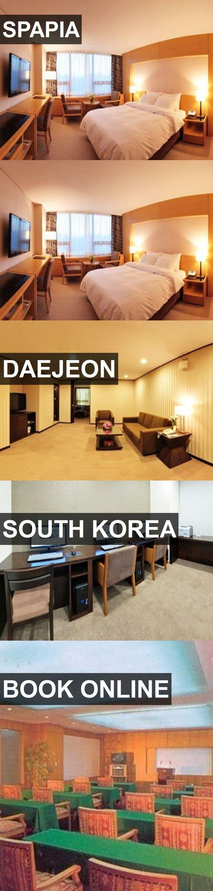 Hotel SPAPIA in Daejeon, South Korea. For more information, photos, reviews and best prices please follow the link. #SouthKorea #Daejeon #travel #vacation #hotel