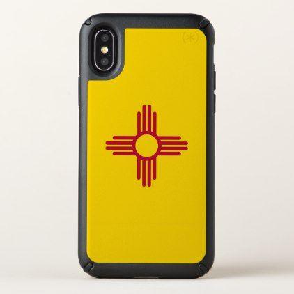 Speck Presidio iPhone X Case with New Mexico flag - diy cyo personalize design idea new special custom