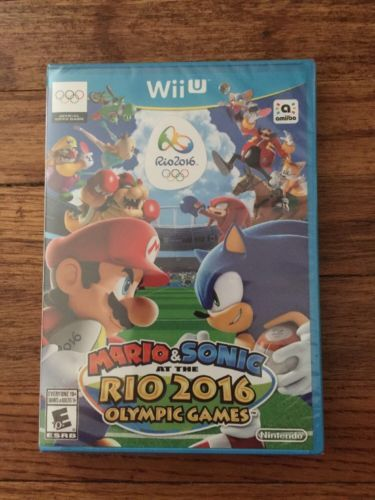 Mario & Sonic at the Rio 2016 Olympic Games (Nintendo Wii U, 2016): $83.00 End Date: Monday Oct-16-2017 12:43:00 PDT Buy It Now for only:…