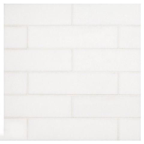 Thassos White 2×8 Subway Tile