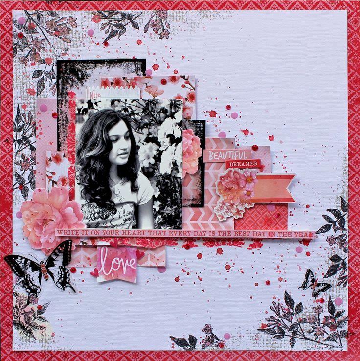 Kaisercraft - Cherry Blossom - Cathy Cafun