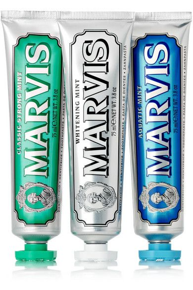 Marvis toothpaste. One of the best toothpastes I have ever tried. Fabulous!!