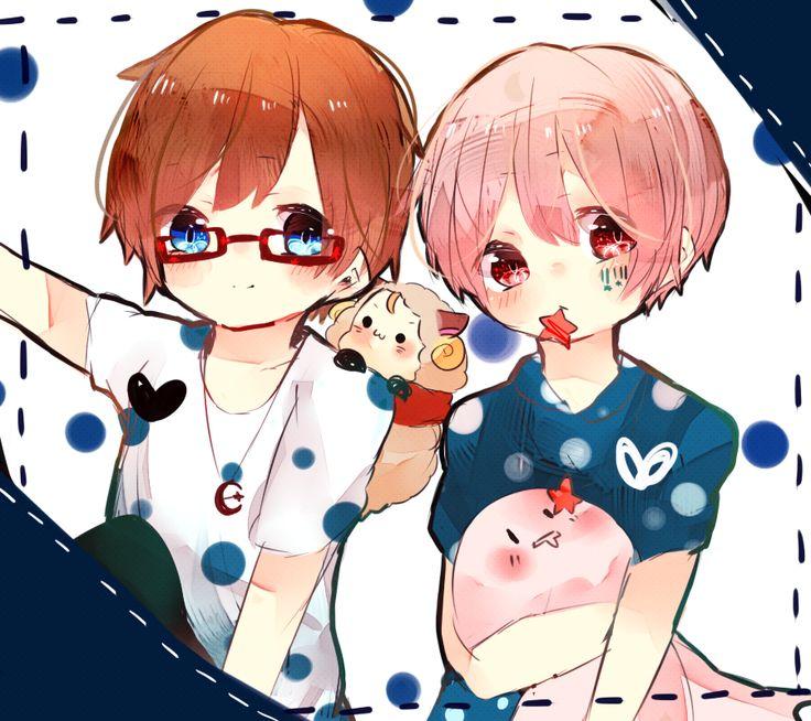 Amatsuki and Mafumafu wahhhhh so cuteeee