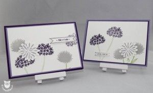 Stampin' Up! Simple Stems Embossing Karte