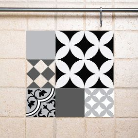 63 best wall tiles decals images on Pinterest | Wall tiles, Vinyl ...