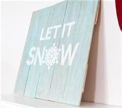 These trendy signs will add a country touch to your living room this holiday!