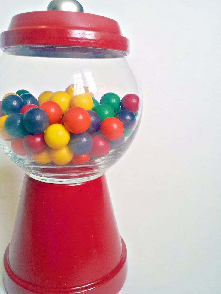 This is quite possibly the cutest way to house your candy; whether it be gumballs, chocolates, gum drops, etc.  This project costs less th...