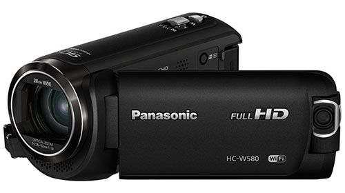 The Panasonic HC-W580K is a full HD Camcorder with built-in Wi-Fi, NFC and a built-in multi scene twin camera for great angles when capturing video. #panasonichcw580k #panasonic #panasoniccamcorders #camcorders
