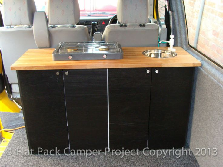 Camper Van Unit Conversion Guide For VW T4 T5 Transporter Vito Transit Vivaro