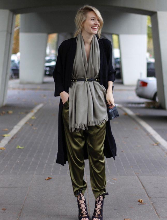 Stylish Ways to Wear Khaki Color waysify