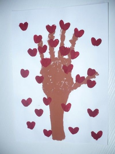 valentines day heart fingerprint tree 1000 ideas about print tree on 7311