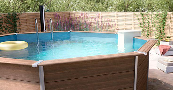 Piscinas portátiles, prefabricadas, contenedores marinos o las típicas piscinas de plástico. Son muchas las opciones para poder tener tu propia piscina en casa sin tener que hacer obras. #Piscina #Verano #Terrazas #Hogar #Piscinaportatil