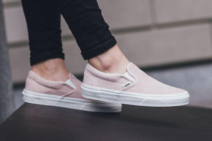 "Vans Slip-On ""Pink Croc"""