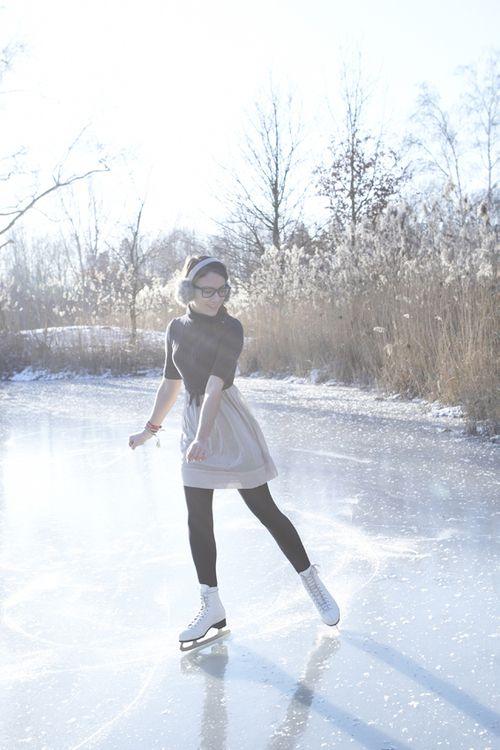 bucket list: pond skating!
