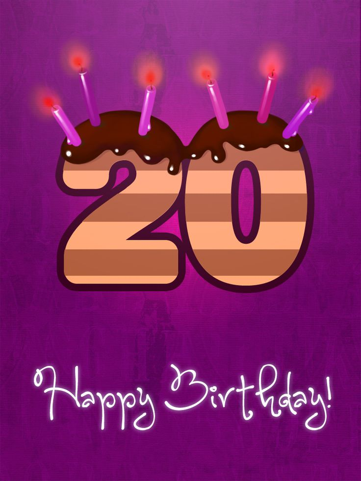 Best 25 20th birthday wishes ideas – Elf Yourself Birthday Cards