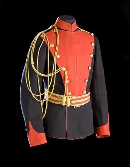 Edwardian lancers tunic.