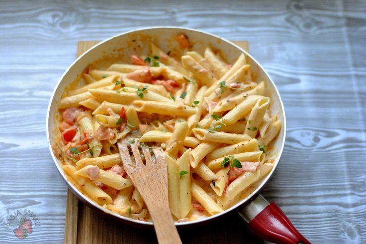 Pasja Smaku - blog kulinarny: Makaronowa patelnia